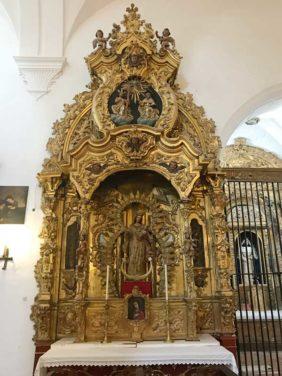 Altar Virgen con el Niño