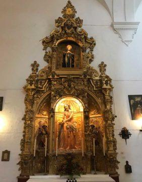 Altar de Ntro. Padre Jesús en la Columna