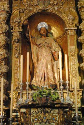 Retablo Santiago Apóstol
