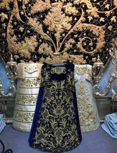 sayas de la Virgen