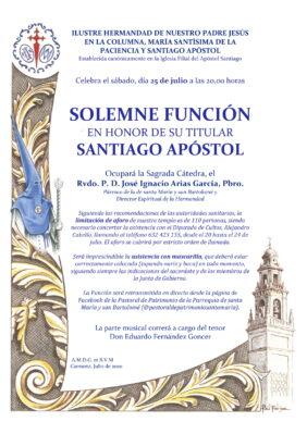 Convocatoria Santiago 2020